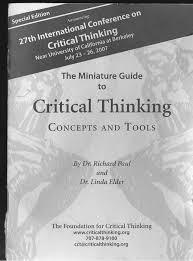 Paul and elder critical thinking   durdgereport    web fc  com Healio Critical thinking paul elder