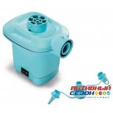 <b>Насос</b> электрический <b>Quick Fill</b> 220В <b>Intex 58640</b>