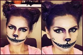 creepy cheshire cat makeup tutorial