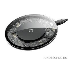 Купить беспроводное <b>зарядное устройство Baseus Simple</b> ...