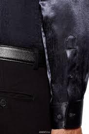 Рубашка Мужская Oodji, Цвет: Темно-Синий, Черный ...