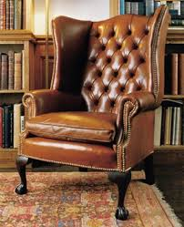 high back georgian wing chair in leather with claw ball legs leather chairs of bath leather chairs of bath antique and reproduction leather chairs bathroomhandsome chicago office chairs investment furniture