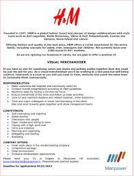 Download Visual Merchandising Resume Sample Haadyaooverbayresort Com