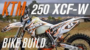 2015 <b>KTM 250 XCF</b>-<b>W</b> Bike Build - YouTube