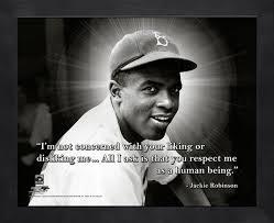 Jackie Robinson Baseball Motivational Quotes. QuotesGram via Relatably.com