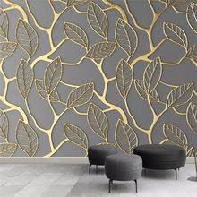 Best value Gold Leaf Wallpaper – Great deals on Gold Leaf ...