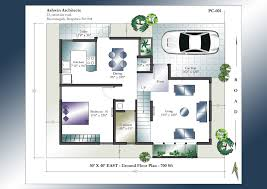 X House Plan   East Facing House Plan   Home Plans India      X      East Facing House Plan   Ground Floor