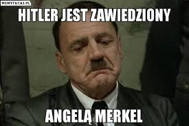 Výsledek obrázku pro Merkel Hitler