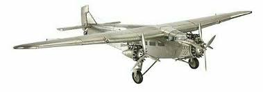 """Ford Trimotor 40"""" Wingspan <b>Model</b> Airplane Tin Goose by <b>Authentic</b> ..."""