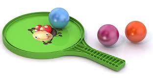 <b>Нордпласт</b> Игровой <b>набор №68</b>: ракетка+3 шарика - купите по ...