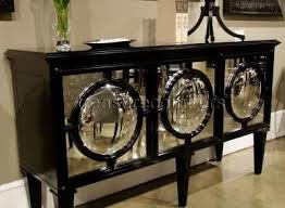 images hollywood regency pinterest furniture: circles black mirrored sideboard cabinet hollywood regency eco friendly amazoncom