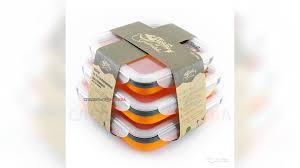 <b>Набор контейнеров Tramp TRC-089</b>, 3 шт, orange купить в ...
