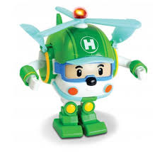 Машинка <b>Robocar Poli Silverlit</b> Вертолетик Хэли <b>трансформер</b> со ...