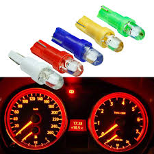 <b>10PCS T5 LED Car</b> Interior Dashboard Gauge Instrument Car Auto ...