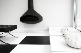 archdaily black and white office black and white office