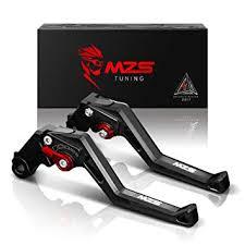 MZS <b>CNC Brake Clutch Levers</b> Set Compatible Honda CRF1000L ...