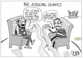 In Defense of Academic Writing    judgmental observer