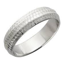 Обручальное парное <b>кольцо</b> из белого золота <b>Эстет 01O720145</b> ...