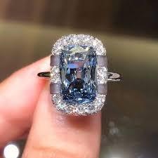 Creative <b>Fashion</b> Lady 925 Sterling <b>Silver Square</b> Cut Sapphire ...