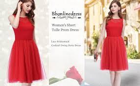 <b>Bbonlinedress</b> Women's Short Tulle Homecoming <b>Prom Dress</b> Lace