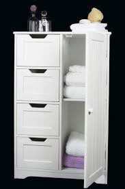 free standing bathroom cabinet furniture four drawer amp door white wooden storage cabinet bathroombedroom free