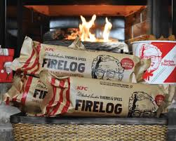 Let Your Fireplace Glow With the Scent of KFC
