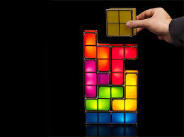 Think Geek <b>Tetris</b> Stackable <b>LED</b> Desk <b>Lamp</b> video game « Inhabitat ...