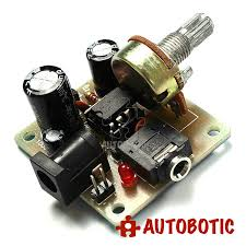 <b>LM386</b> Super <b>Mini</b> Amplifier Module DIY Kit (<b>DC3V</b>-12V)