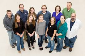 illinois illinois team tackles mysterious disease afflicting the researchers include back row from left daniel raudabaugh dr matt allender dr dana lindemann chris phillips jessica huntington and andy miller