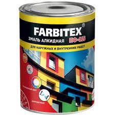Купить <b>Эмаль ПФ</b>-<b>115 зеленый</b> (1,8 кг) <b>FARBITEX</b> в , цены ...