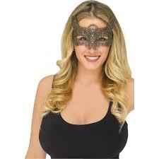 Silver Fun World <b>Halloween</b> Gothic <b>Lace Bat</b> Costume Venetian ...