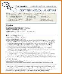 resume templates for medical assistant   agreementtemplates infomedical assistant resume examplesregularmidwesterners   resume and