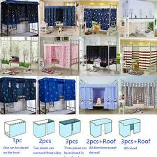 Students <b>Dormitory</b> Thin Bunk <b>Bed Curtain</b> Lightproof Dustproof ...