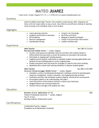 resume career summary examples with education and relevant    substitute teacher resume sample functional teacher resume example example resume education   sample substitute teacher resume