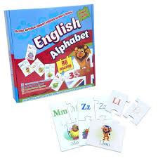 <b>Пазлы Strateg English Alphabet</b> на Английском SKL11-237714 ...
