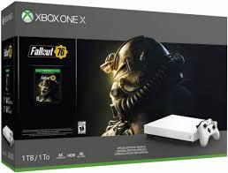 Игровая <b>приставка Microsoft Xbox</b> One X 1Tb + Fall Out 76 (белый ...