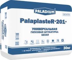 <b>Штукатурка гипсовая БЕЛАЯ</b> PalaplasteR-201, 30 кг ...