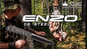 """""""Лесные тесты"""" <b>нож Enzo D2</b> BT от Kizlyar Supreme - YouTube"""