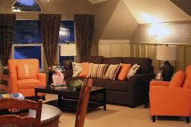 ideas burnt orange: amazing themes in orange and beauteous burnt orange and brown living room