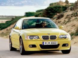 Zdjęcie żółtego bmw e46