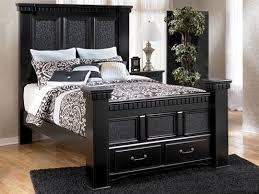 cavallino queen storage bed cavallino queen storage bedroom set ashley furniture