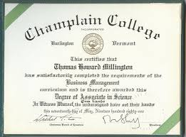 family champlain college degree