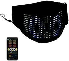 Bluetooth Smart LED mask screen display LED Light ... - Amazon.com
