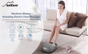MaxKare Foot Massager Shiatsu, Electric Foot ... - Amazon.com
