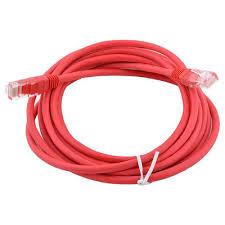 Купить <b>кабель AOpen</b> Патч-корд литой <b>UTP</b> кат.5е 20м красный ...