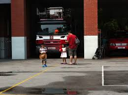 fireman evan don t put all your diapers into one diaper bag mommy do you want to to be a firefighter when you grow up