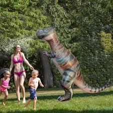 180cm GINORMOUS DINOSAUR YARD SPRINKLER For Kids Adult ...