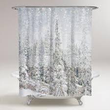 Magic <b>Snow</b> Trees Shower <b>Curtain</b> | Shower <b>Curtains</b>