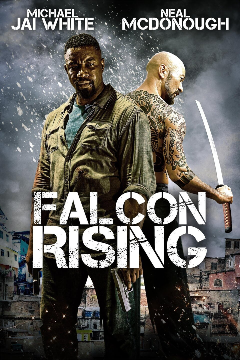 Download Falcon Rising (2014) Dual Audio (Hindi-English) 480p | 720p