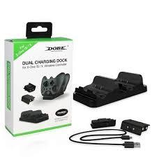 Двойная <b>зарядная станция DOBE</b> Dual Charging Dock for Xbox ...
